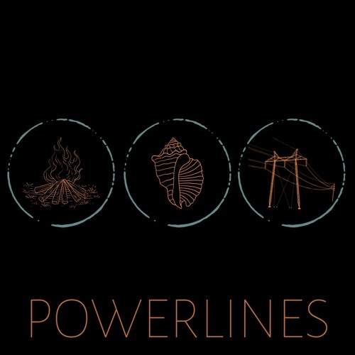 Album art for POWERLINES by Grayson Moon.